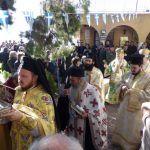 Δισαρχιερατική Θ. Λειτουργία στην πανηγυρίζουσα Ι. Μονή Όσιου Παταπίου Λουτρακίου
