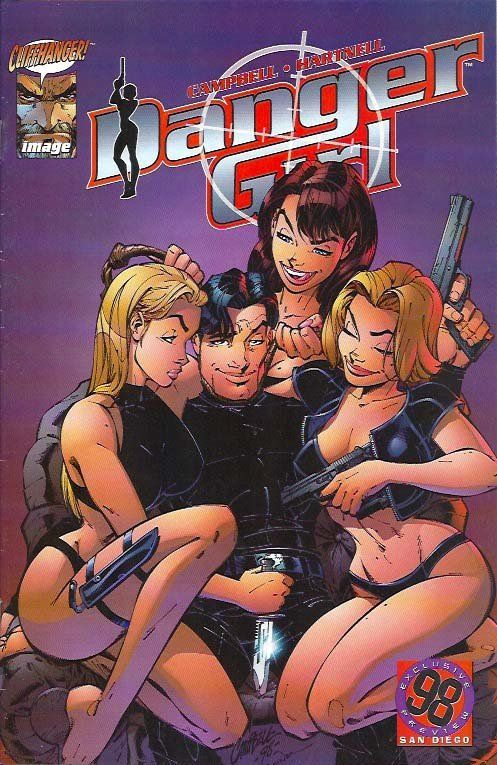 Danger Girl - San Diego Preview (1998) 1    Danger Girl, Danger Girl www.detoyboys.nl