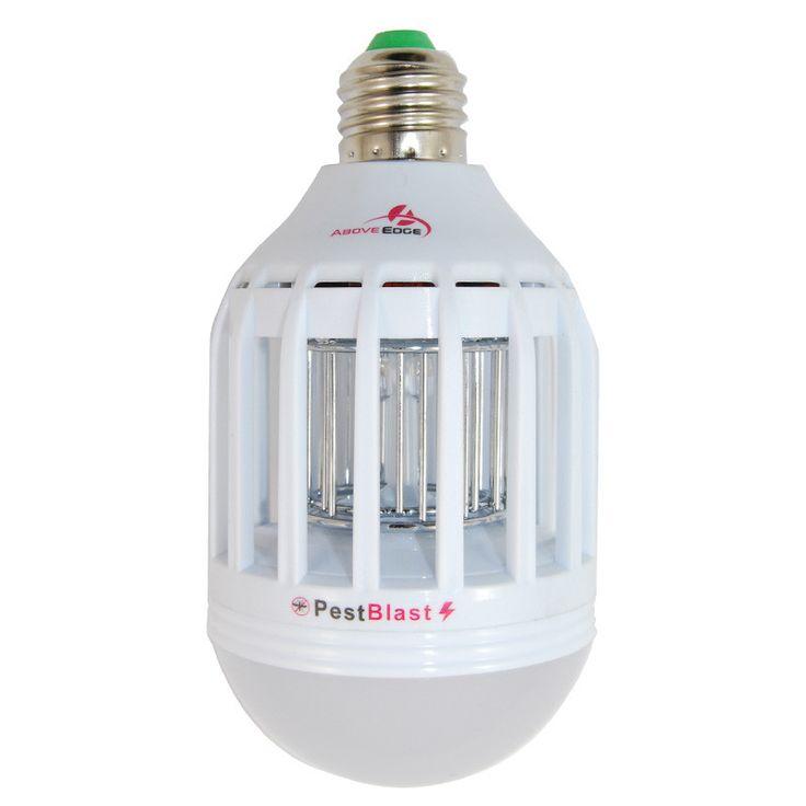 2 in 1 LED 9W E27 3500K Mosquito Killer Bug Control Zapper Pestblast 110V Bulb
