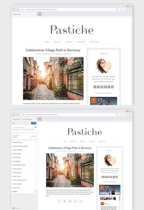 8 best WordPress Minimal Themes images on Pinterest | Minimal theme ...