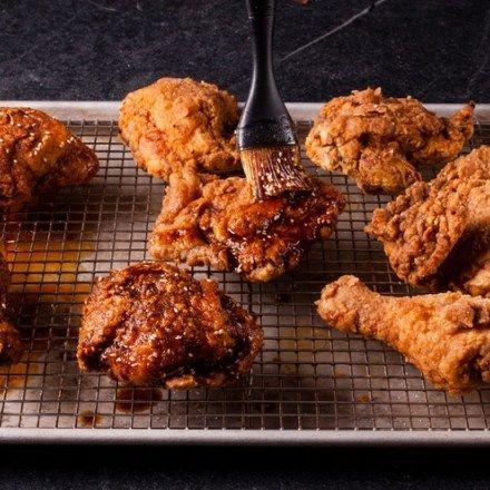Mole Hot Gebratenes Huhn - Kochs Wissenschaft