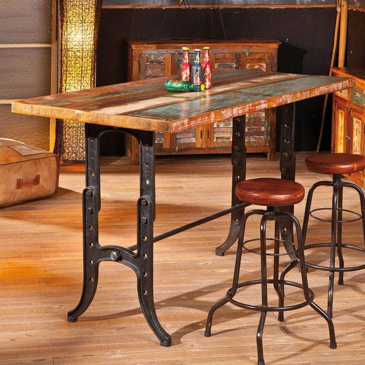 pin von auf industry style loft design m bel pinterest tisch m bel und esstisch. Black Bedroom Furniture Sets. Home Design Ideas