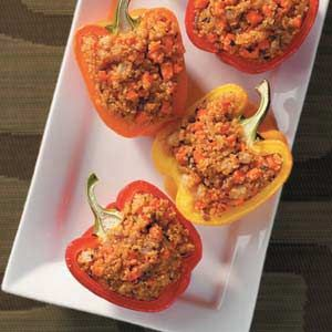 Quinoa-Stuffed Peppers Recipe