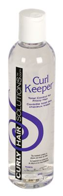 Curl Keeper. This is one of the only products that keeps my curls intact. I love the smell too.
