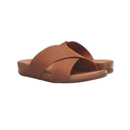 4137ef13358d2 Fitflop Women s Aix Slide Perf Tan