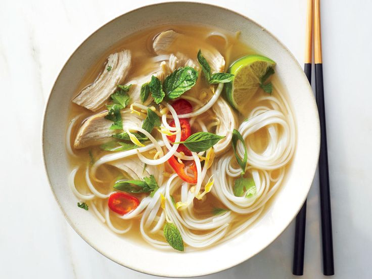 Quick Chicken Pho | Knobbyand sometimes intimidating looking, fresh ginger is a great way to add fresh flavor to a variety of meals and recipes. Once peeled and grated, ginger can easily be thrown into various sauces, glazes, and marinades to brighten up the dish. Traditionally included in Asian recipes like noodle bowls or stir-fry, it can also be added for a fun twist on recipes like Lemony Chicken with Root Vegetables or Zesty Heirloom Gazpacho.