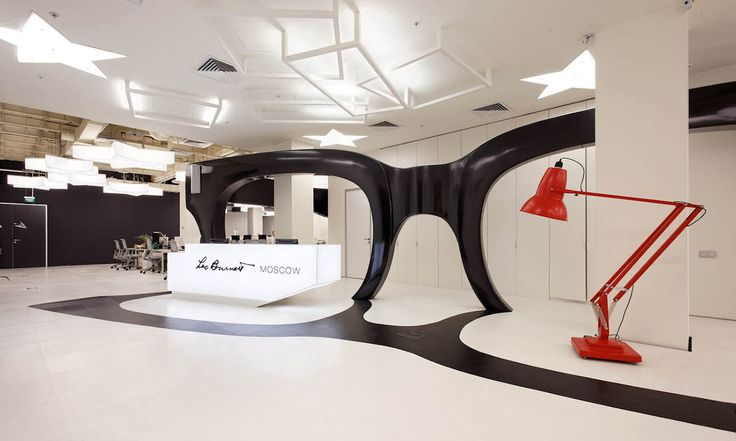 Leo Burnett advertising agency in Moscow. #interdema #modernoffice #workingspace #design #LeoBurnett #дизайн #современныйдизайн