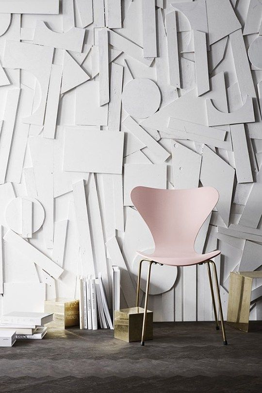 6 examples of 3D Wall Decor-Eclectic Trends