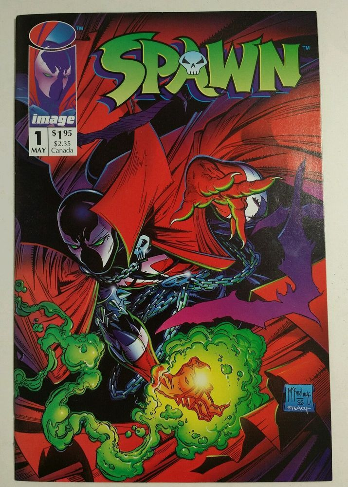 Spawn #1 (May 1992, Image) 1st appearance, Todd McFarlane Check out our other items, at Every2nsCounts Store!