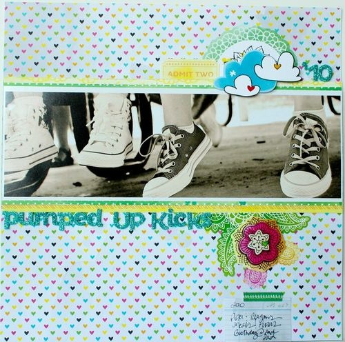 Pumped Up Kicks - by Jenny Chesnick using the Amy Tangerine Sketchbook collection from American Crafts. #amytangerine #scrapbook #kidsScrap Inspiration, Scrapbook Ideas, Scrapbook Inspiration, Amazing Scrapbookin, Scrapbook Layout, Amy Tangerine, Paper Crafts, Jenny Chesnick, American Crafts