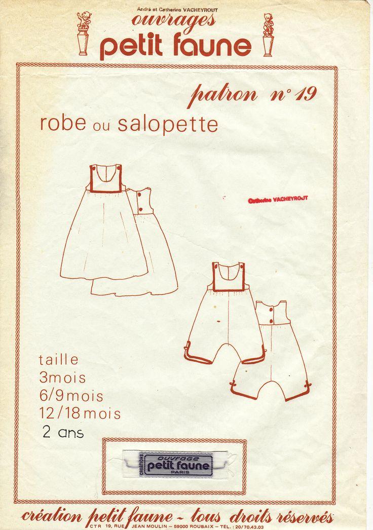 19- robe ou salopette (3moisà2ans)