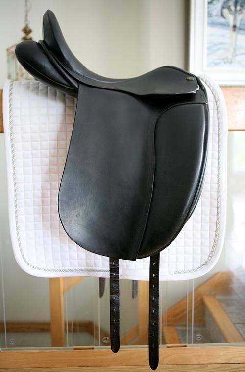 English saddle, Dressage and Saddles on Pinterest