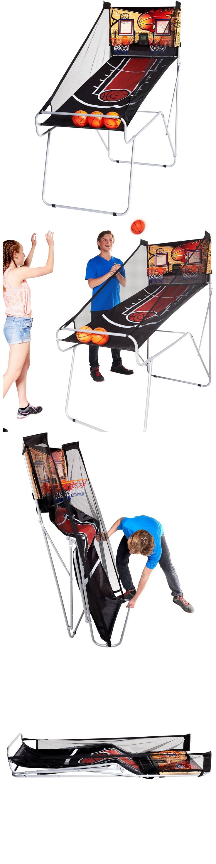Other Indoor Games 36278: Basketball Game Indoor Electronic Arcade Game Sports Kids 2 Player Birthday Gift BUY IT NOW ONLY: $54.99