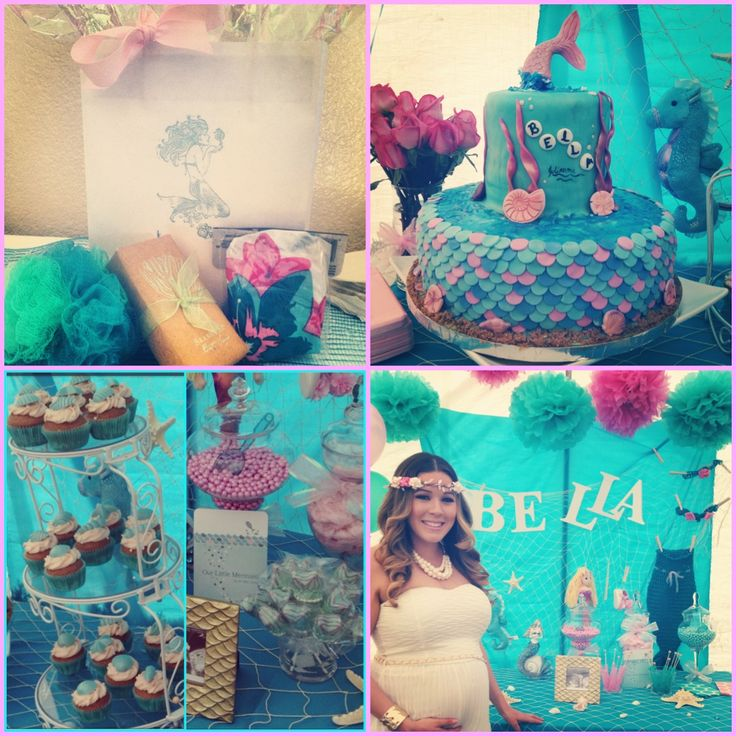 mermaid baby showers girl baby showers baby shower sirena ariel baby