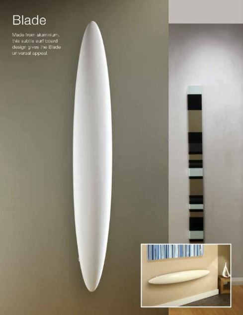 The Blade radiator by The Radiator Company - available at Graham