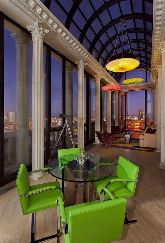 Exquisite Art Deco Penthouse In San Francisco, California | The Residence  Features A Palladian