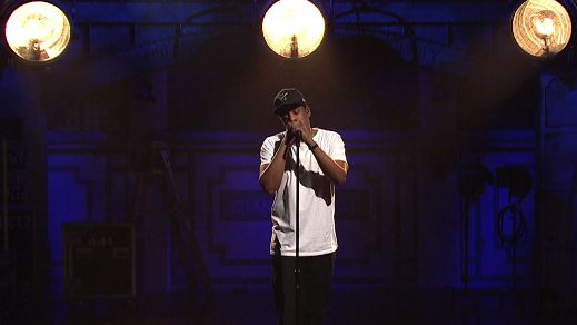 Watch Jay-Z Honor Colin Kaepernick On 'SNL' : The Record : NPR
