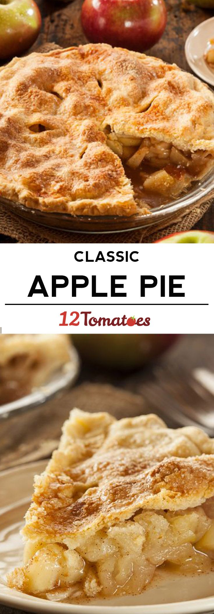 Fav recipe - Classic Apple Pie- making it all from scratch is 100 percent worth it!