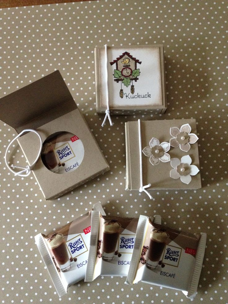 Stampin up Ritter Sport Verpackung