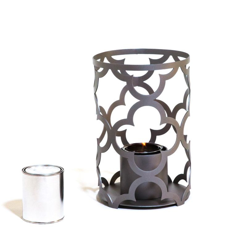 TF Essentials Mediterranean Gray Outdoor Lantern