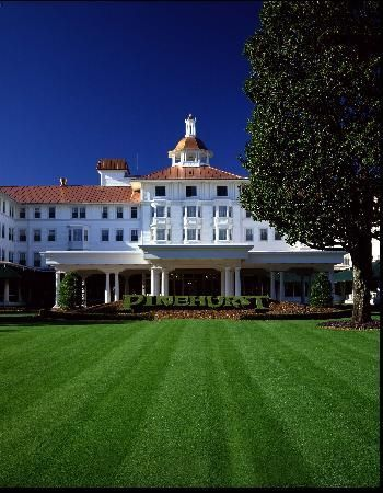 The Carolina - Pinehurst Resort. We go to Pinehurst & Southern Pines a lot, but have not yet stayed here. It's time!