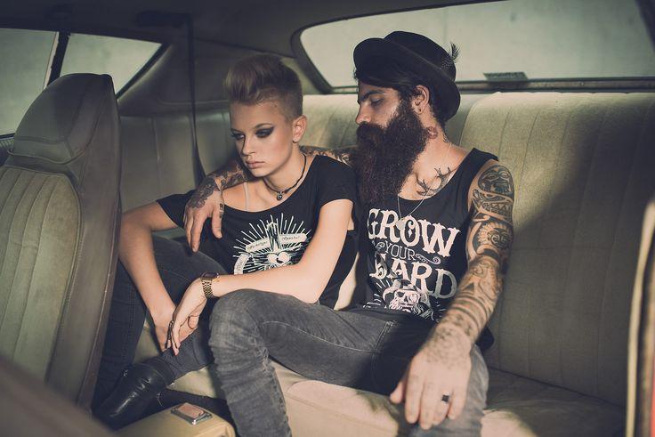 Tattoo, Beard, Fashion, Archetype, Beauty, Girl  www.gerdeder.com