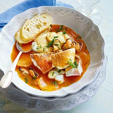 Bouillabaisse mit Rouille Rezept   Küchengötter
