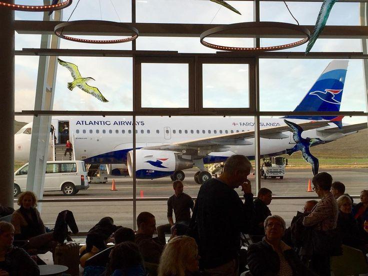 Leaving Faroe Islands for a week. #travel #trondurpaturson #faroeislands #airport #airplane #atlanticairways #holiday #brusselshereicome #iphoneography #glassart by gunnarholmj