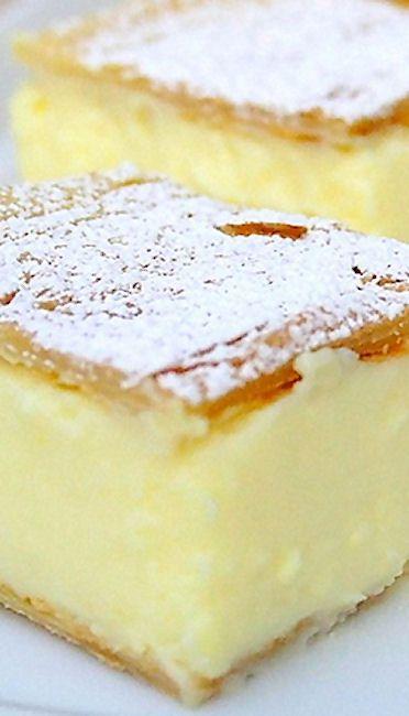Vanilla Slice (Krempita)