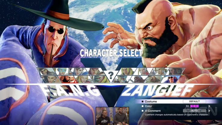 Final Character Select Screen Layout for Launch Roster