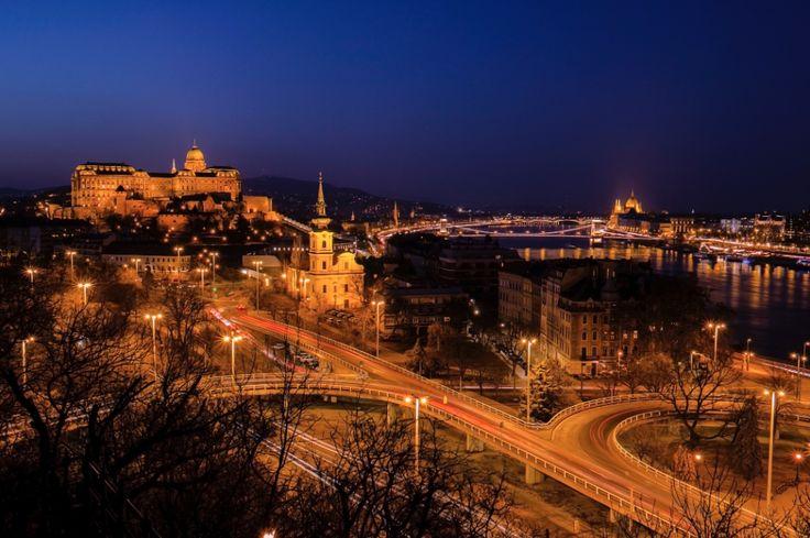 Budapest Blue Hour Cityscape :: photo by Riccsi (Richárd Sárközi)
