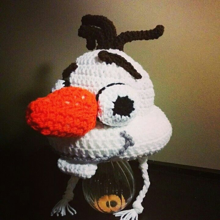Olaf 3D hat