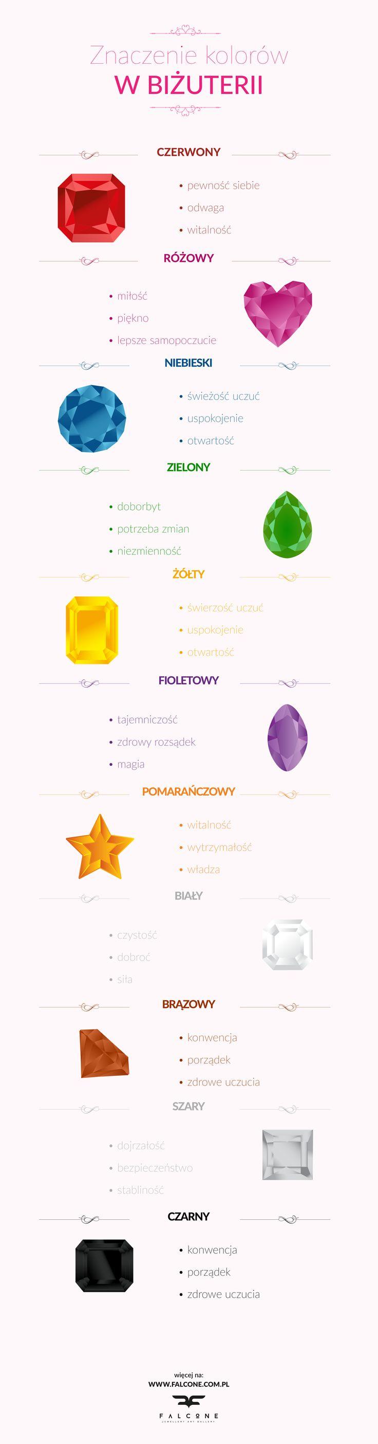 Znaczenie kolorów biżuterii.  #bizuteria #handmade