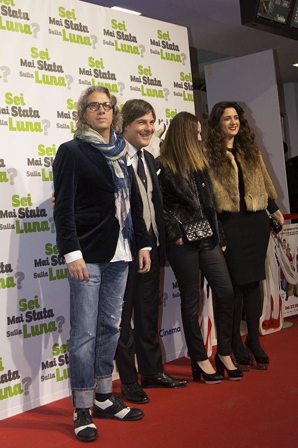 Red carpet per Alessandro Marchesi di 2W2M, insieme a Paolo Tenna della Top Time