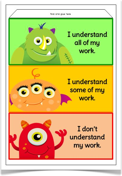 Assessment Prisms-Monsters - Treetop Displays - Downloadable EYFS, KS1, KS2 classroom display and primary teaching aid resource