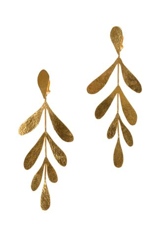 HERVE VAN DER STRAETEN Earrings Spring 2012