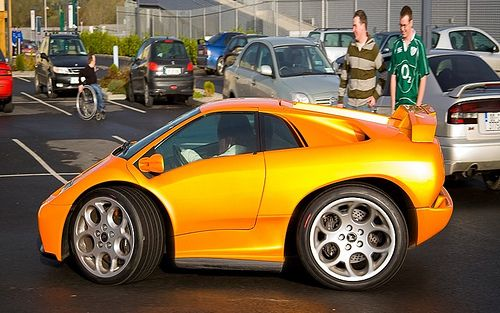 Mini Lamborghini Diablo Smart Car Body Kits Pinterest