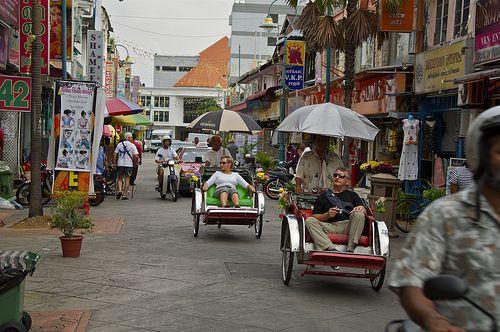 Penang (Malaysia) Rickshaws by AroundtheWorldwithKid, via Flickr