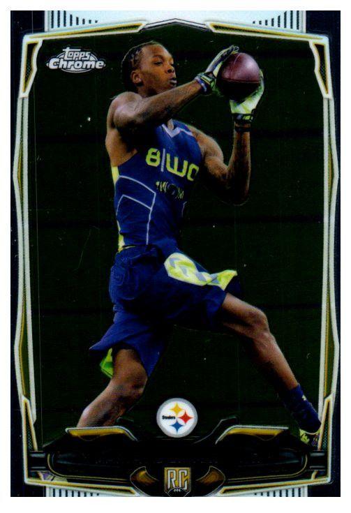 2014 Topps Chrome Martavis Bryant Rookie Pittsburgh Steelers