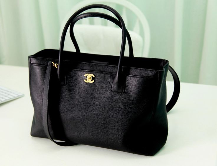 Chanel Executive Cerf Tote Bag.