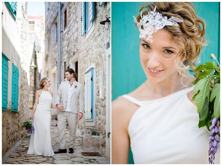 Entspannt heiraten in Kroatien - Inspirations-Shooting am  wilden Mittelmeer| Verrueckt nach Hochzeit | Fotos: http://www.weddingmemories.de...