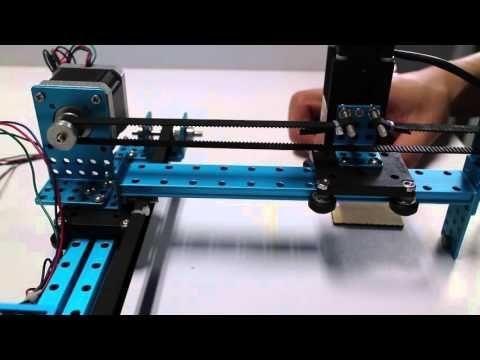 (2) Laser XY Plotter - YouTube