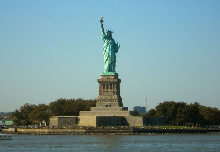 Original Statue of Liberty in ellis island new york | New York Harbor Cruises: See Ellis Island and the Statue of Liberty ...