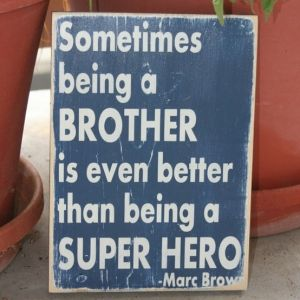super hero big brother......