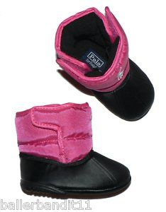 Baby Polo Boots | Polo Ralph Lauren Infant Baby Crib Shoes Boots Winter | eBay