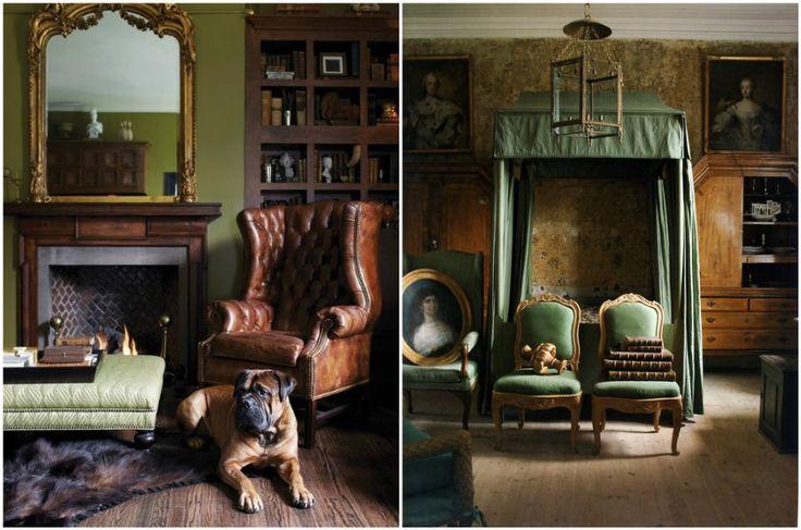 Английский стиль в интерьере #дизайн #интерьер #английский #стиль #дизайн_интерьера #дом