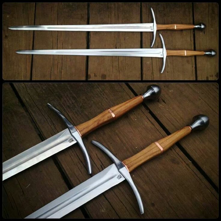 Pair of longswords [ Swordnarmory.com ] #armaments #weapons #swords