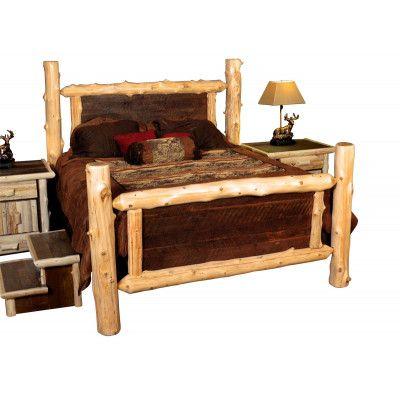 log panel bed