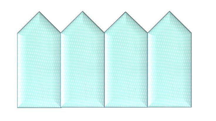 Zagłówek tapicerowany PŁOTEK w HomeColor na DaWanda.com