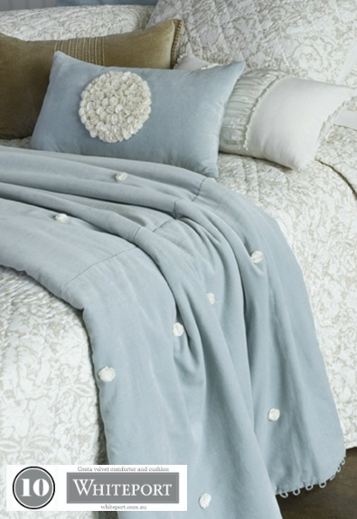 10. Greta velvet comforter and cushion $139.95. 40. Bird cage room art $129.95 #WhiteportBingo: Win 1 of 3 Decals from #Whiteport by entering the competition at http://winarena.com.au. Every entrant gets a 20% off #voucher!
